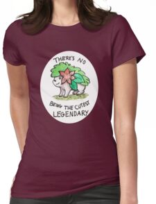 Shaymin - The cutest legendary Womens Fitted T-Shirt