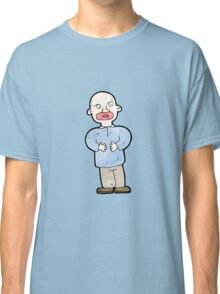 cartoon confused man Classic T-Shirt