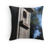 birdhouse Throw Pillow