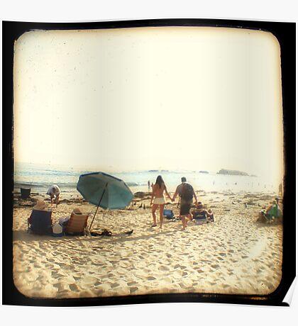Beach Couple Poster