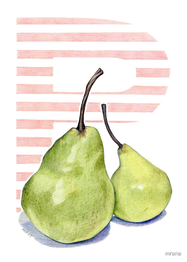 P is for Pear by Mariana Musa
