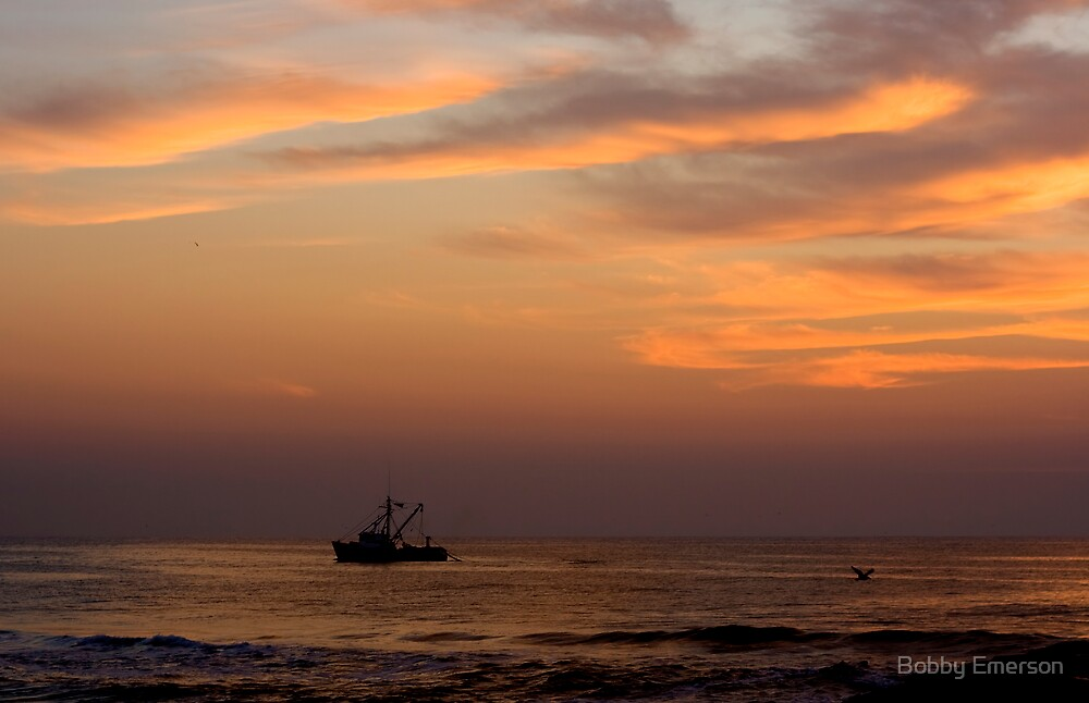 Morning Trawler by Bobby Emerson