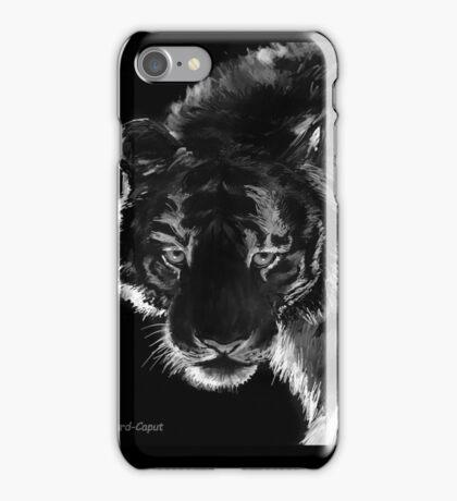 Tigre B&N, featured in Back in Black  iPhone Case/Skin