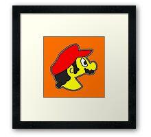 Pac-Bro. (a) Framed Print