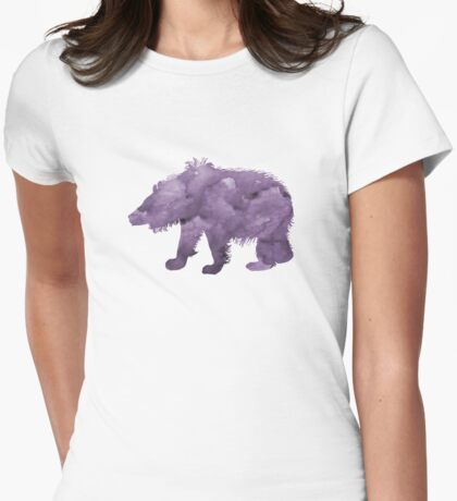 Sloth Bear Womens Fitted T-Shirt