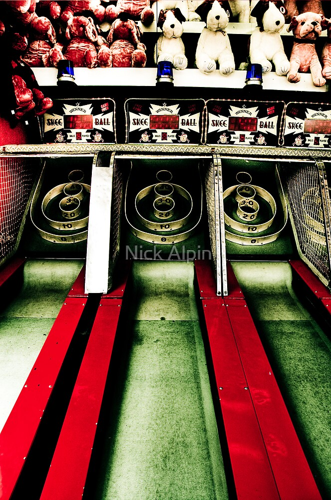 Skee Ball by Nick Alpin