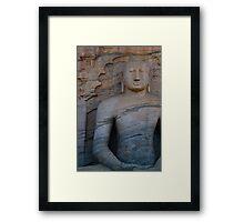 Sri Lanka - Buddha 2 Framed Print