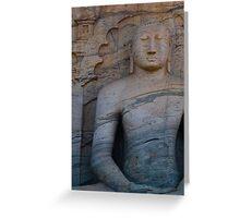 Sri Lanka - Buddha 2 Greeting Card