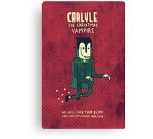 The Christmas Vampire Canvas Print