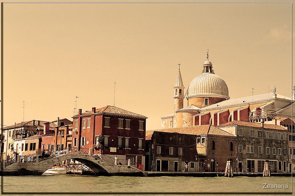 Venetian Evening in Sepia by Zeanana