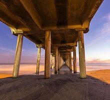 Huntington Beach Pier 3 by Nadim Baki