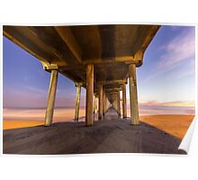 Huntington Beach Pier 3 Poster
