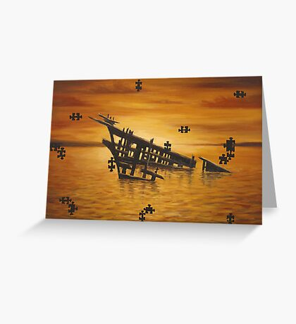 Isn't Life Puzzeling? Greeting Card