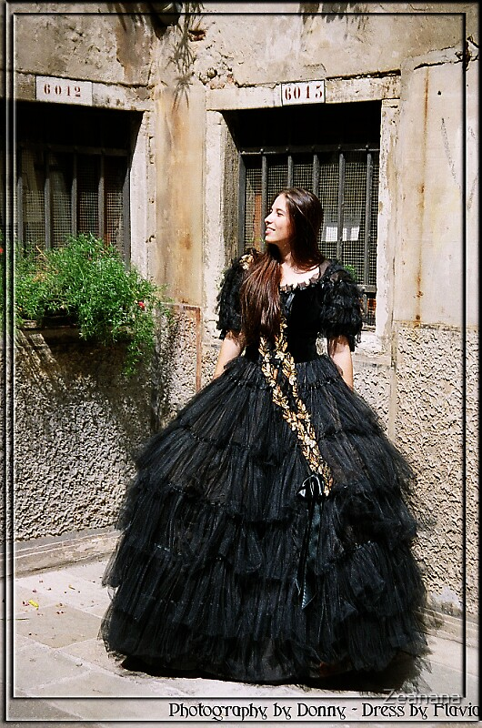 Venetian Rennaissance Carneval Dress by Zeanana