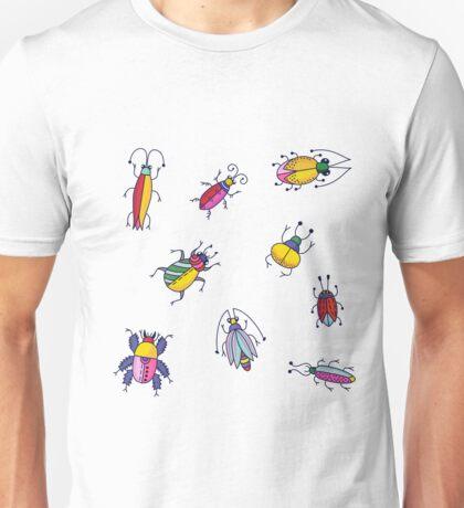Bugs Beetles Unisex T-Shirt