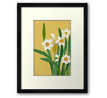 Daffodils from Amphai Framed Print