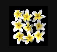 frangipani flower Womens Fitted T-Shirt