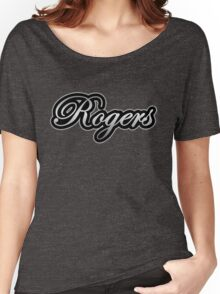 Rogers Drums Vintage Silver Women's Relaxed Fit T-Shirt