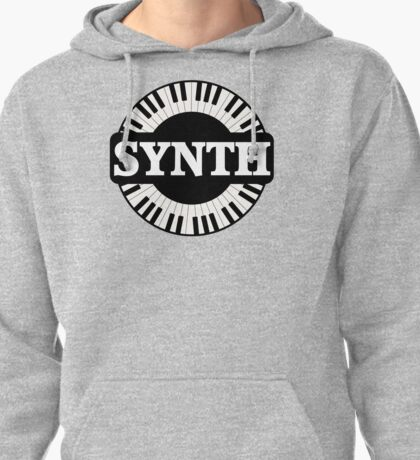 Synth Keyboard Pullover Hoodie