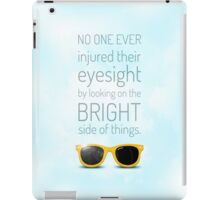 Bright Side -- Sky Blue iPad Case/Skin