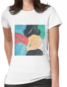 Painting  Womens Fitted T-Shirt