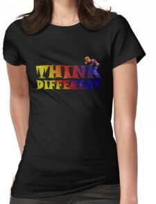 Think different Womens Fitted T-Shirt