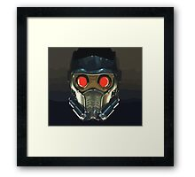 Face of a Star Lord Framed Print