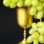 Grapes in a cup by Rodica Nelson