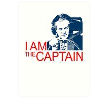 I Am the Captain Art Print