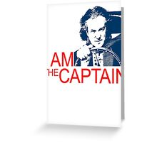 I Am the Captain Greeting Card