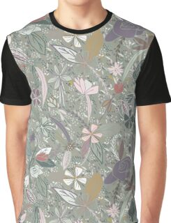 Flower seeds - grey Graphic T-Shirt