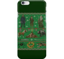 Hobbit Christmas Sweater iPhone Case/Skin
