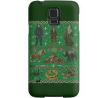 Hobbit Christmas Sweater Samsung Galaxy Case/Skin