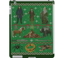 Hobbit Christmas Sweater iPad Case/Skin