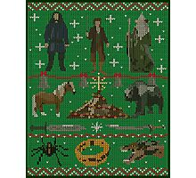 Hobbit Christmas Sweater Photographic Print