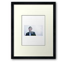 "Eleventh Doctor - ""You Don't Even Lift"" Framed Print"