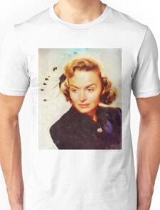 Donna Reed, Vintage Hollywood Actress Unisex T-Shirt