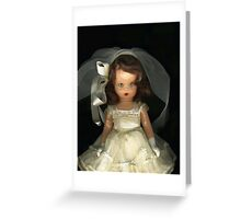 First Communion Doll Greeting Card