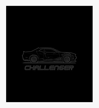 DODGE CHALLNEGER HELLCAT Photographic Print