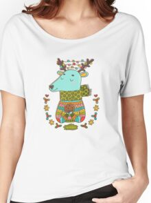 Winter deer Women's Relaxed Fit T-Shirt