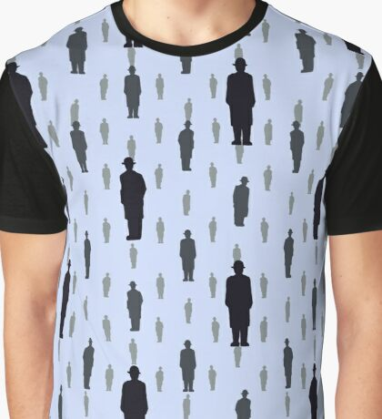 By Rene Magritte Golconda.  Graphic T-Shirt