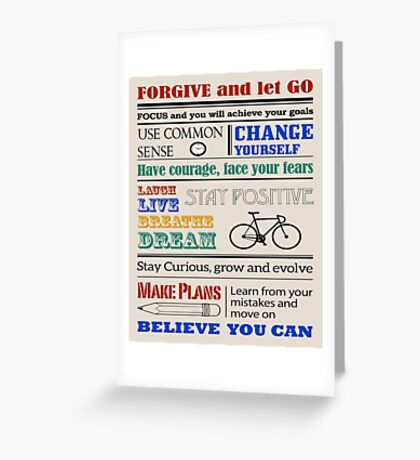 Forgive & Let Go Greeting Card