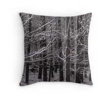 white pine Throw Pillow