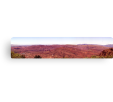 Mt Tom Price - Tom Price Iron Ore Mine Site. Canvas Print