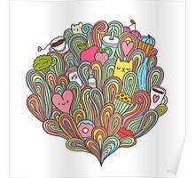 Doodle dreams Poster