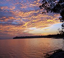 sunset on the tennessee by budrfli