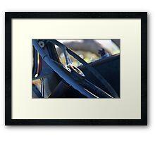 Turner Blue Framed Print