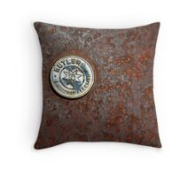Rusty Butlers Throw Pillow