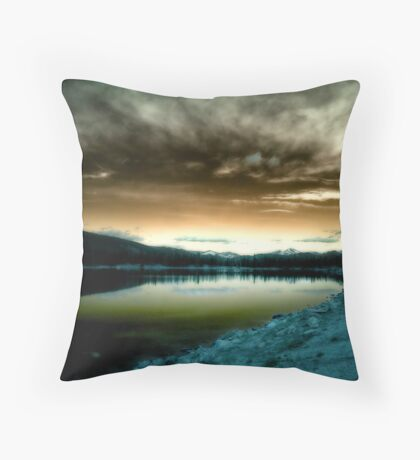 The Persistence Of Nature Throw Pillow