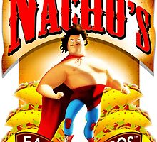 El Nacho Libre - Eagle Egg Tacos by papabuju